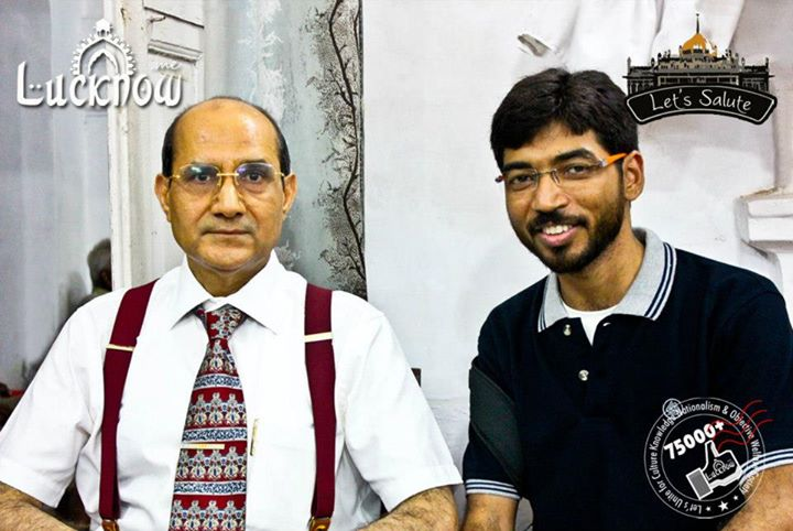 Dr Anis Ansari, IAS : VC – Urdu Arabi Farsi University, with