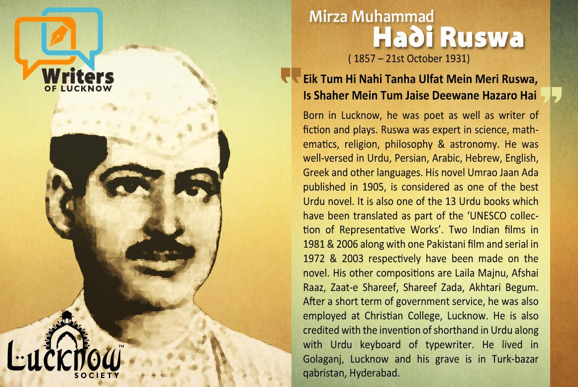 Mirza Muhammad Hadi Ruswa