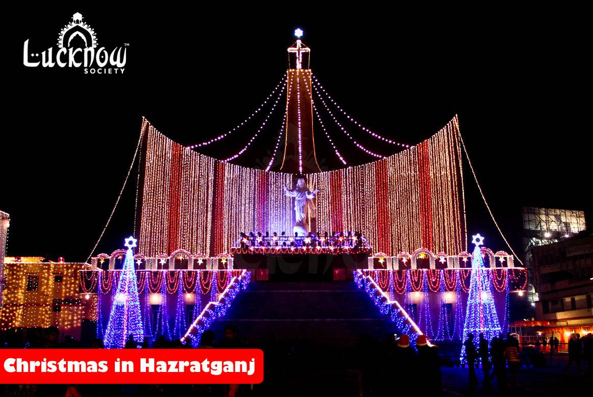 Christmas in Hazratganj, Lucknow